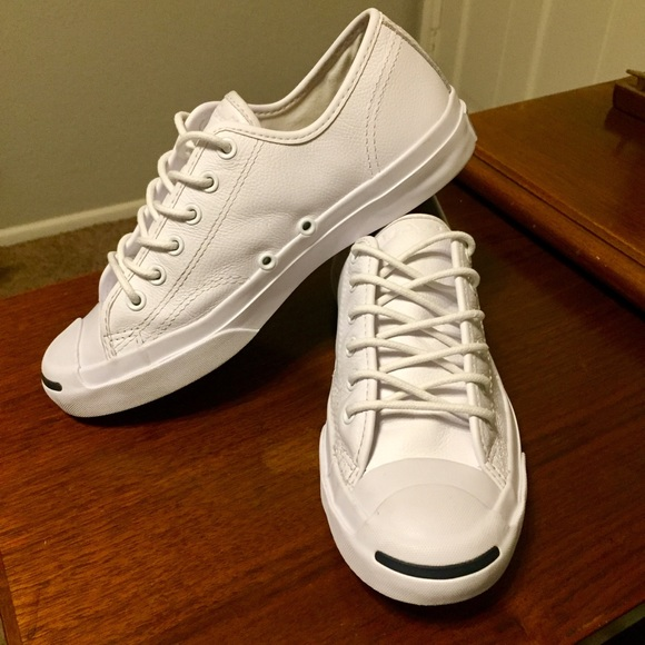 14fdd95a3cedec Converse Shoes - Jack Purcell Converse Leather Low